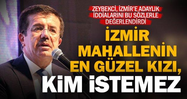 Zeybekci'den İzmir adaylığı yorumu