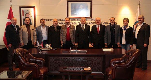 ASKF'den Başkan Osman Zolan'a ziyaret