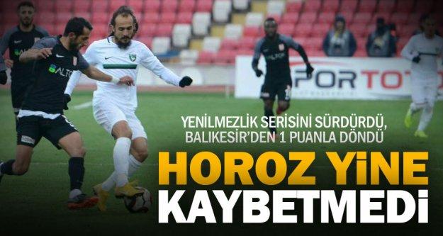 Balıkesirspor: 0 – Denizlispor: 0