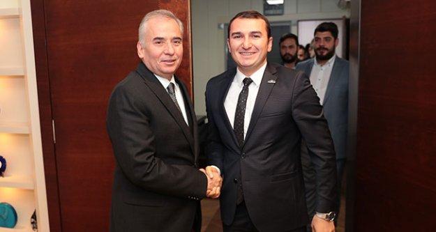 Başkan Zolan'a Genç ASKON'dan ziyaret