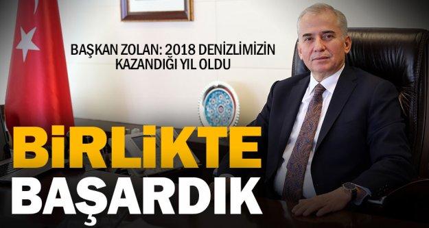Başkan Zolan: Denizlimizin kazanımları 2019'da da sürecek
