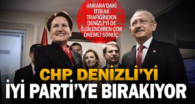 CHP Denizli'den aday çıkarmayıp İYİ Parti'yi destekleyecek