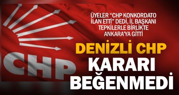 CHP'de ittifak memnuniyetsizliği