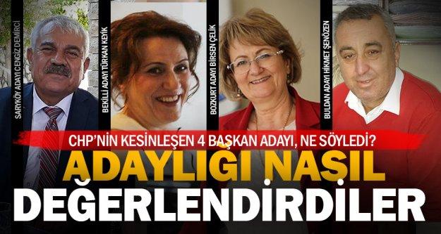 Denizli'deki CHP'li adaylardan değerlendirme