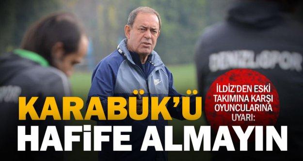 Denizlispor'da İldiz'in duygusal maçı