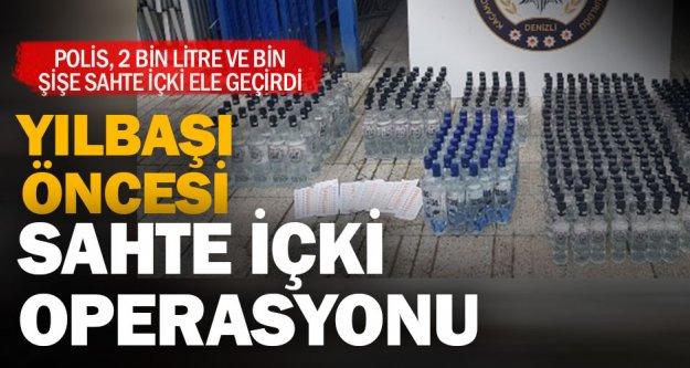 Eğlence mekanlarına kaçak alkol satışı yapan 7 kişi yakalandı