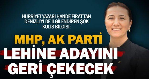 Hürriyet Yazarı Hande Fırat'tan iddia: MHP Denizli'de aday göstermekten vazgeçti