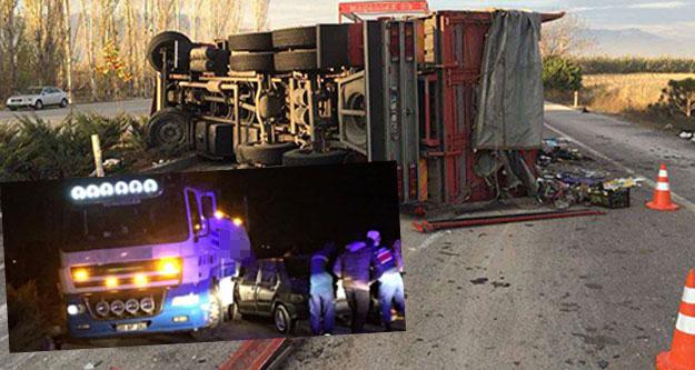 Kaza kazayı getirdi: 2'si hafif 6 kişi yaralandı