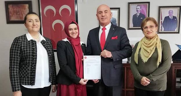 MHP Buldan Yeşim Çakır'a emanet