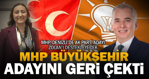 MHP büyükşehir adayını geri çekti, Ak Parti'yi destekleyecek