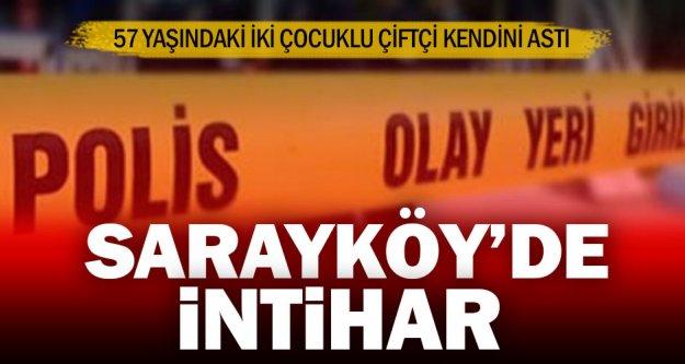 Sarayköy'de intihar