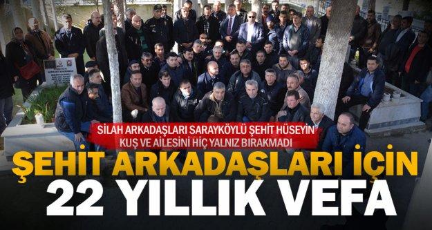 Türkiye'ye örnek olacak bu vefa 22 yıldır hiç bitmedi