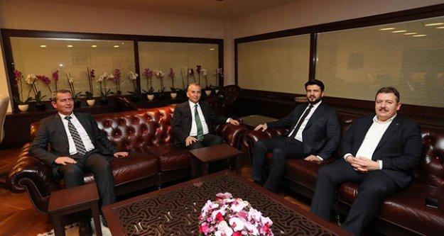 Ak Parti Ege Bölge Koordinatörü Çelebi'den Başkan Zolan'a, ziyaret