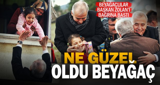 Başkan Zolan Beyağaç'ta: Söz verdik, yaptık