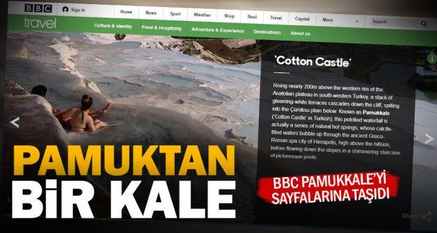 Beyaz cennet Pamukkale BBC'de