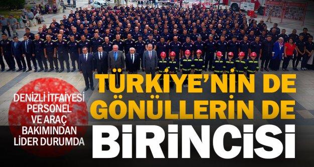 Büyükşehir İtfaiye Türkiye birincisi