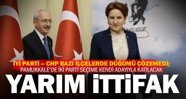 İyi Parti – CHP ittifakı: İki parti de kendi adayıyla seçime girecek