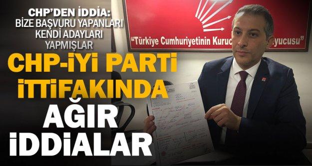 İYİ Parti'nin ilçe adayları Denizli CHP'de krize neden oldu