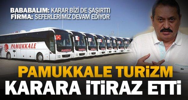 Pamukkale Turizm'den iflas kararına itiraz