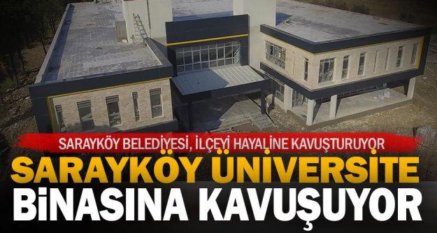 Sarayköy meslek yüksekokulu yeni binasına kavuşuyor