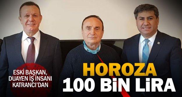 Zafer Katrancı'dan Denizlispor'a 100 bin lira bağış