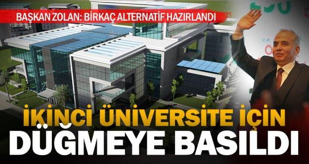 Denizli'de ikinci üniversite için çalışmalar başladı