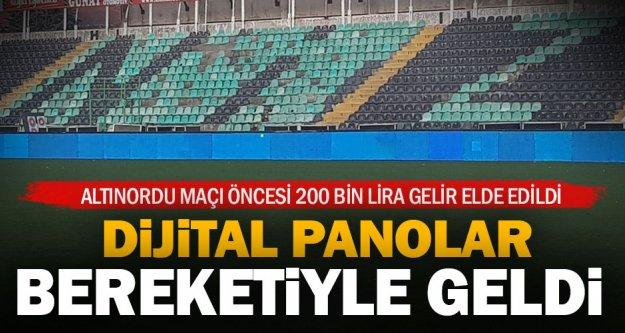 Denizlispor'da dijital bereket