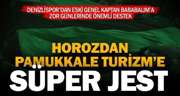 Denizlispor, Pamukkale Turizm reklamlı formayla sahaya çıkacak