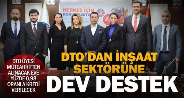 DTO'dan inşaat sektörünü hareketlendirecek kampanya