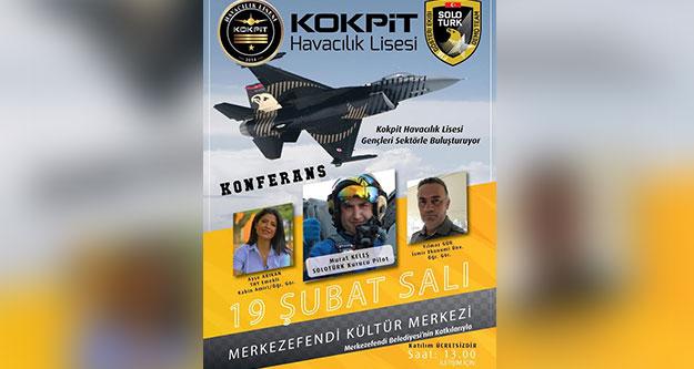 Efsane pilot Denizli'de
