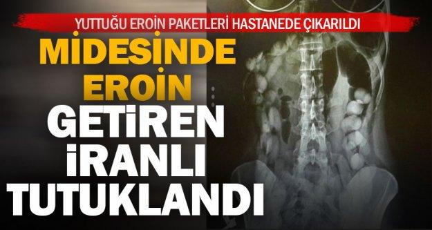 İran'dan midesinde uyuşturucuyla geldi, Denizli'de yakalandı