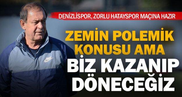 Lider Denizlispor Hatayspor'a konuk olacak