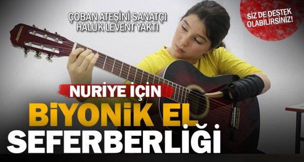 Türkiye; Nuriye'ye biyonik el alabilmek için seferber oldu