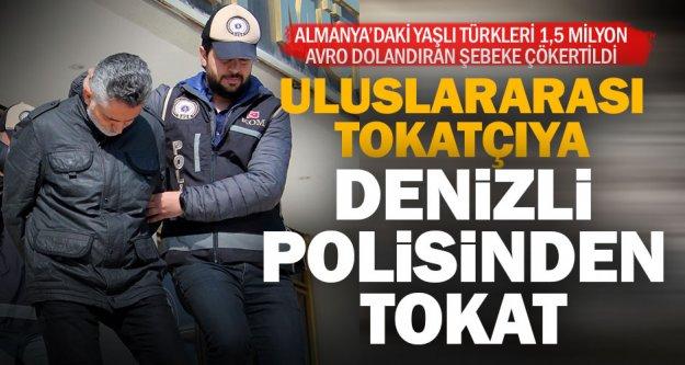 Avrupa'da dolandırıcılıktan aranan Türk'ü, Denizli polisi yakaladı