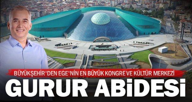 Büyükşehir'den Ege'nin en büyük kongre ve kültür merkezi