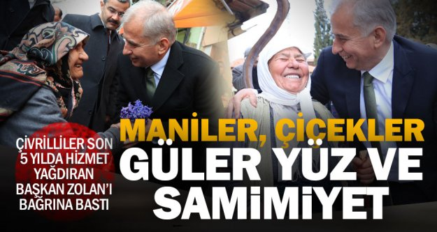 Çivril'de Başkan Osman Zolan coşkusu