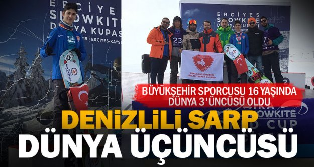 Denizli ve Türkiye'nin gururu oldular