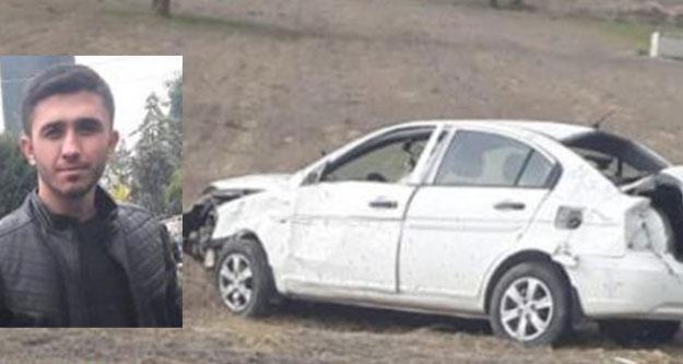 Denizlili genç mobilyacı Burdur'daki kazada öldü