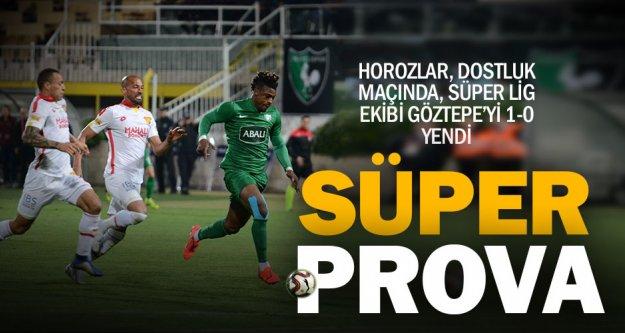 Hazırlık maçında Denizlispor, Göztepe'yi yendi