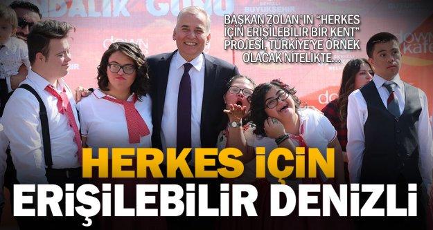 """'Herkes İçin Erişilebilir Bir Kent"""" projesi, Türkiye'ye örnek olacak nitelikte"""