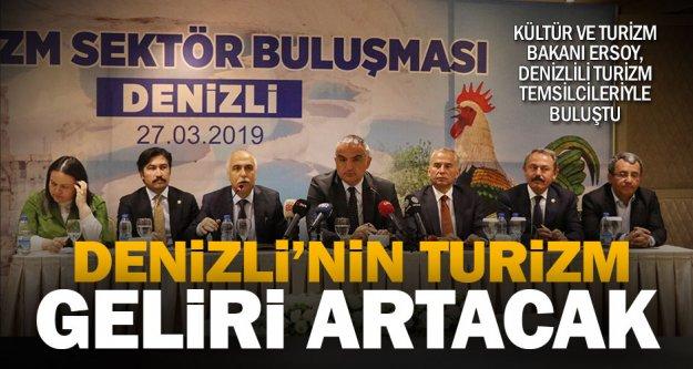 Kültür ve Turizm Bakanı Ersoy Denizli'de