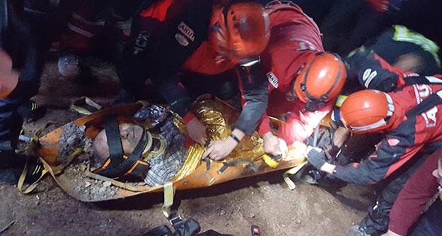 Mantar toplarken 70 metre yükseklikteki yamaçtan yuvarlandı