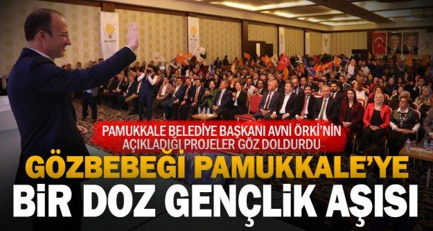 """Örki, 'Gözbebeğimiz"""" dediği Pamukkale için projelerini açıkladı"""
