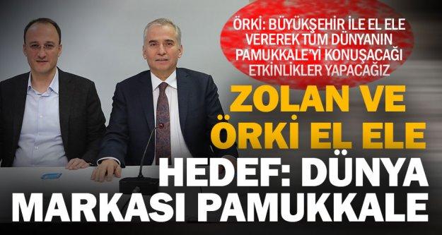 Örki'nin projeleri ile dünya Pamukkale'yi konuşacak