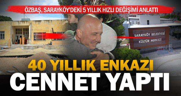 Sarayköy'ün atıl tesisleri, yeniden can buldu