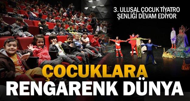 3. Ulusal Çocuk Tiyatrosu Şenliği devam ediyor