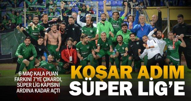 Abalı Denizlispor, Süper Lig'e koşuyor