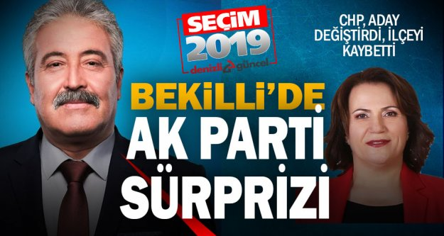 Bekilli'de Ak Partili aday Mustafa Çoban yeni başkan