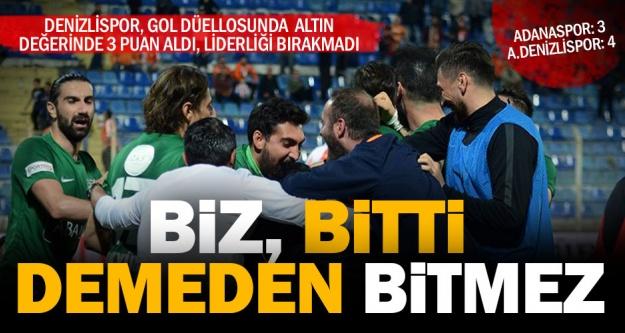 Horoz Adana'da inandı ve kazandı