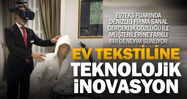 Türkiye'de ilk kez sanal ve gerçek 'Evteks'in standında bir araya geldi